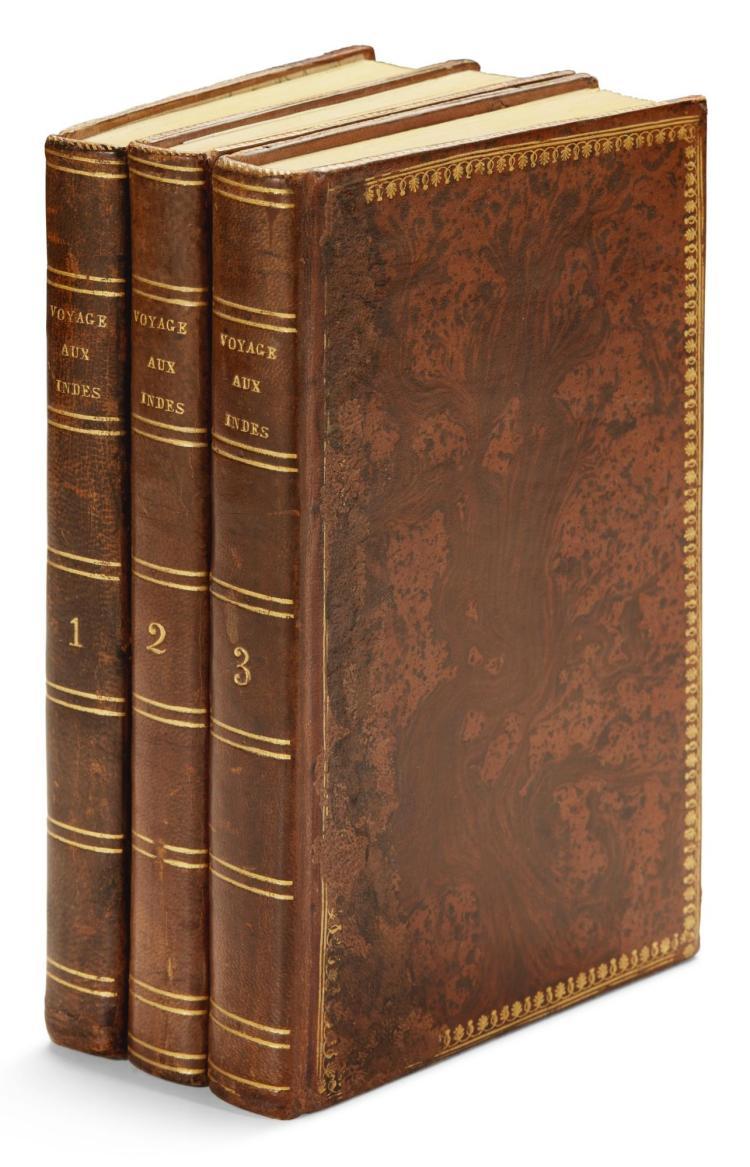SAINTE-CROIX, RENOUARD DE. VOYAGE COMMERCIAL, 1810