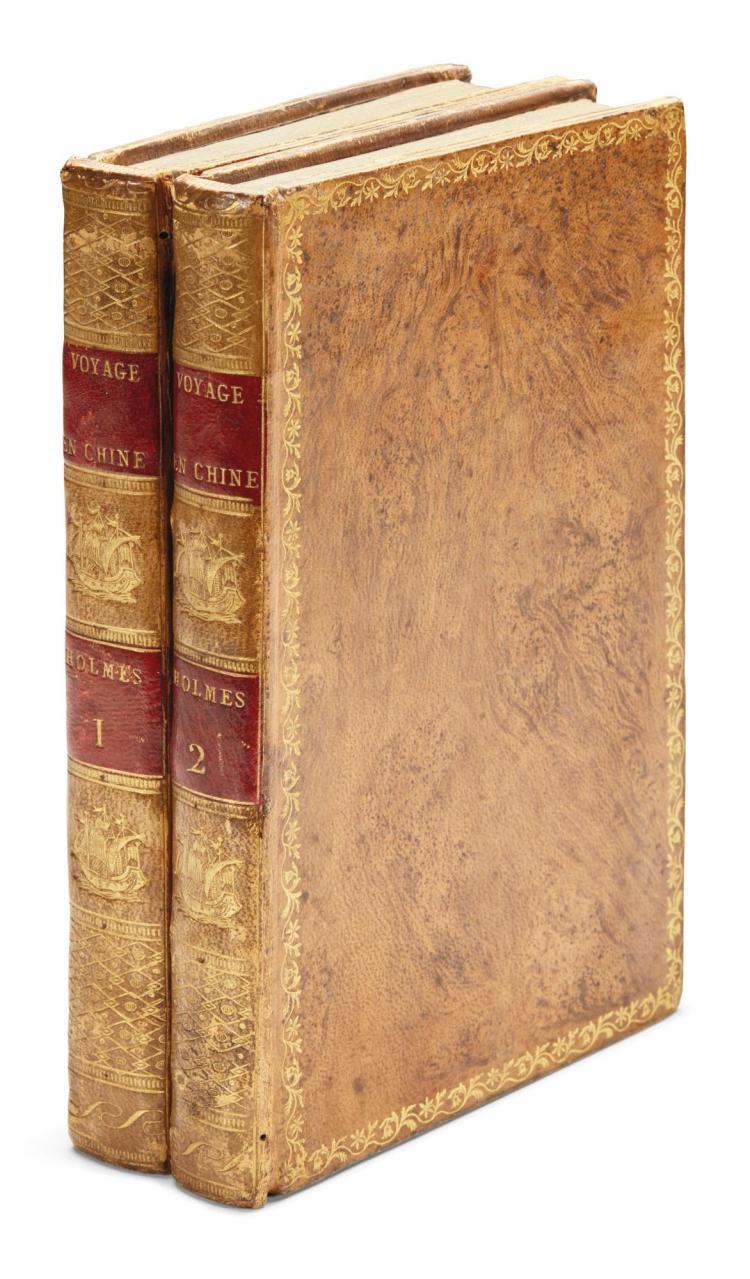 HOLMES, SAMUEL. VOYAGE EN CHINE ET EN TARTARIE. 1805