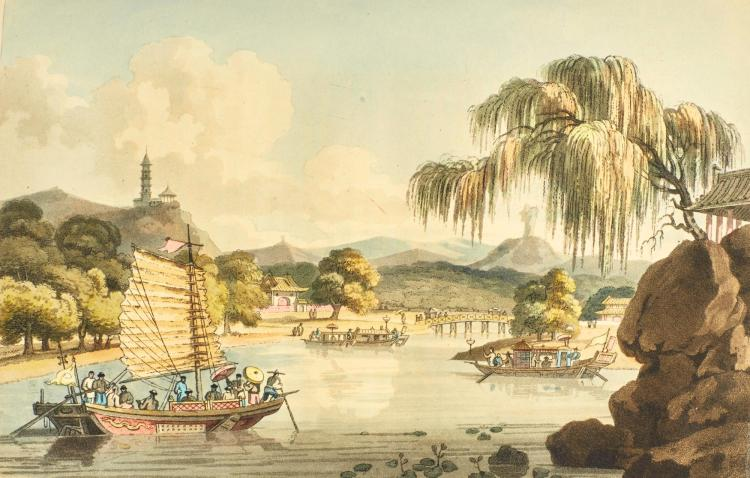 BARROW, JOHN. TRAVELS IN CHINA. 1804