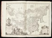 ANVILLE, JEAN BAPTISTE D'. NOUVEL ATLAS DE LA CHINE. 1737