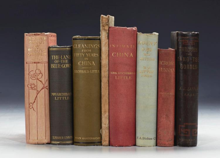 LITTLE, ARCHIBALD JOHN, AND ALICIA. COLLECTION OF 8 VOLUMES