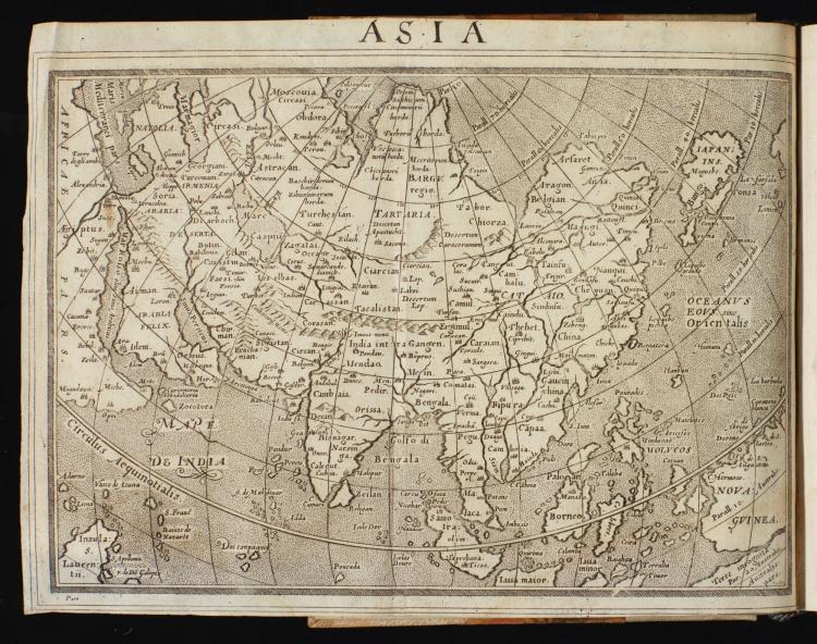 BOTERO, GIOVANNI. RELATIONI UNIVERSALI DI GIOVANNI BOTERO BENESE, 1599