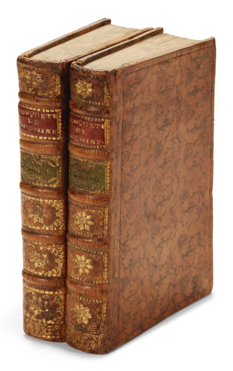 JOUVE, JOSEPH-BAPTISTE. HISTOIRE DE LA CONQUETE LE LA CHINE. 1754