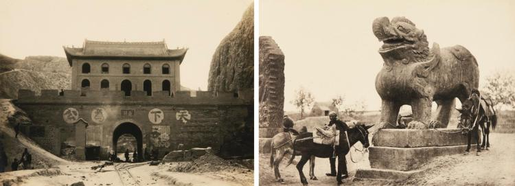 LONGHAI RAILWAY. TWO BOOKS OF PHOTOGRAPHS. 1920 AND C.1930