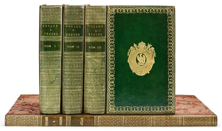 GUIGNES, CHRÉTIEN-LOUIS-JOSEPH DE. VOYAGES A PEKING. 1808