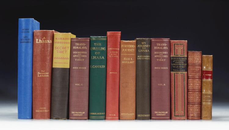 TIBET. A COLLECTION OF 12 VOLUMES