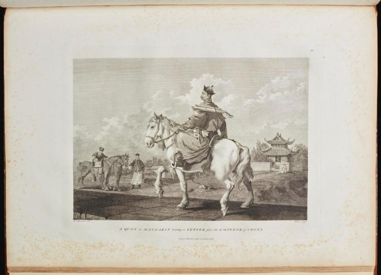 STAUNTON, GEORGE. AN AUTHENTIC ACCOUNT OF AN EMBASSY FROM THE KING OF GREAT BRITAIN TO THE EMPEROR OF CHINA. 1797