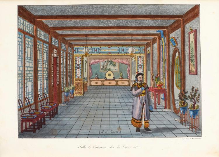 MALPIÈRE, D. BAZIN DE. LA CHINE. 1825