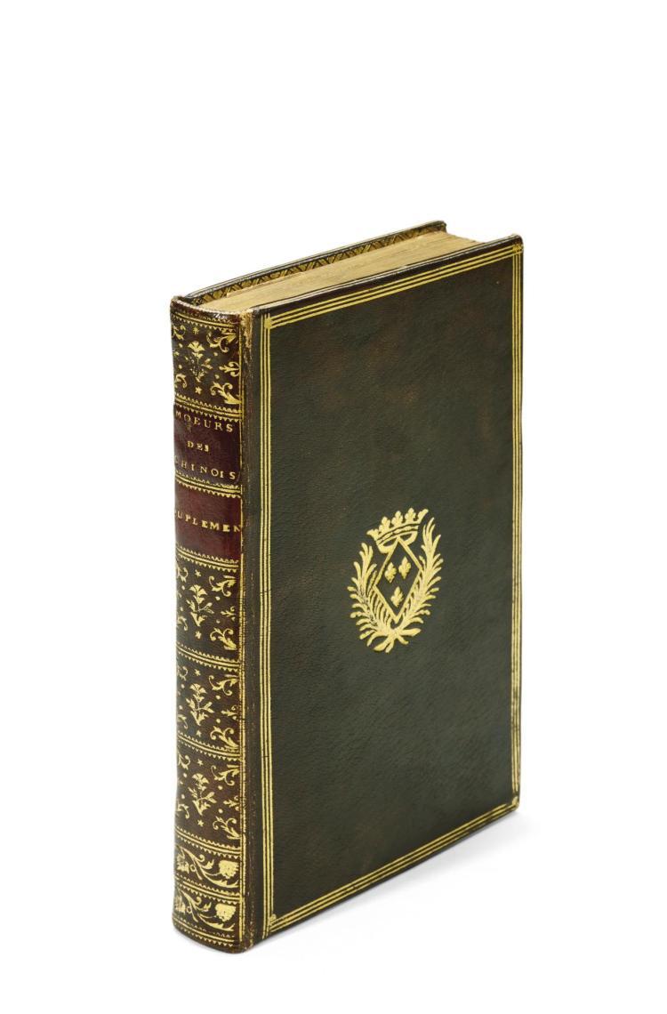MÉMOIRES CONCERNANT... DES CHINOIS–SECOND SUPPLÉMENT AUX MÉMOIRES CONCERNANT DES CHINOIS. NYON, 1786