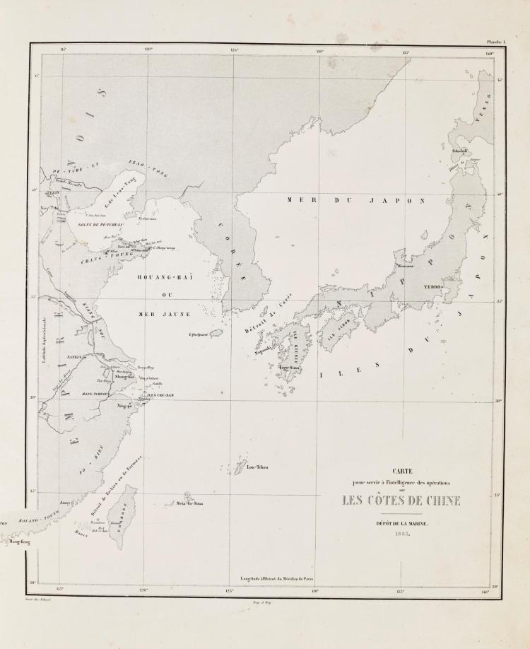 PALLU [DE LA BARRIÈRRE, LÉOPOLD AUGUSTIN CHARLES] EXPÉDITION DE CHINE EN 1860. 1863