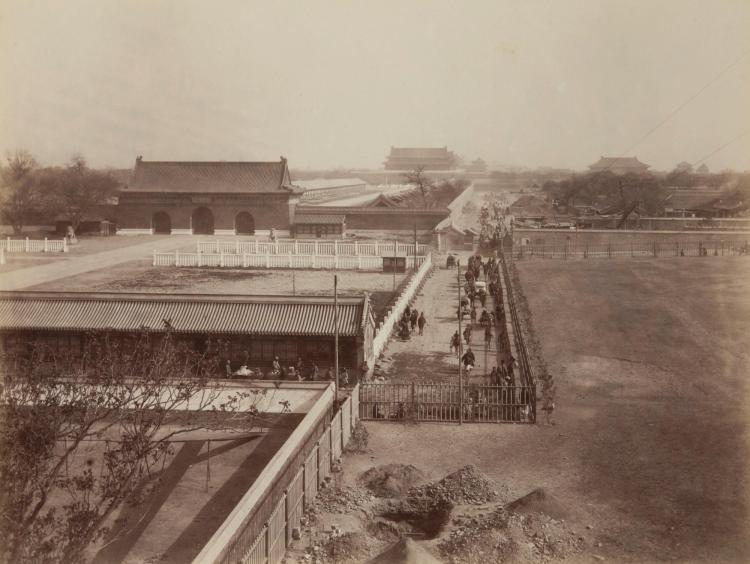 PHOTOGRAPHS--YAMAMOTO, S. BEIJING: 38 PHOTOGRAPHS [C.1880S-90S]