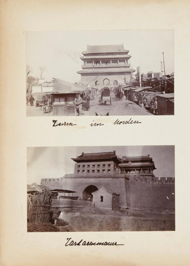 CHINA - MONTGELAS, P.G.BOOK, ALBUM AND LOOSE PHOTOGRAPHS