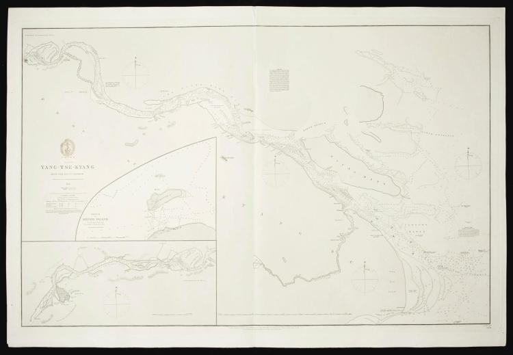 CHINA. A COLLECTION OF 11 MARITIME CHARTS