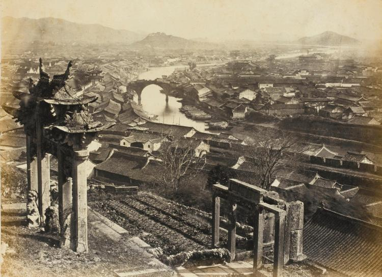 WATSON, J.C. ALBUM OF PHOTOGRAPHS OF CHINA [C.1869]