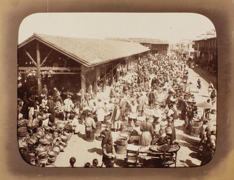 PHOTOGRAPHS. VIEWS OF HONG KONG, CHINA, JAPAN AND ELSEWHERE. [C.1890-95]