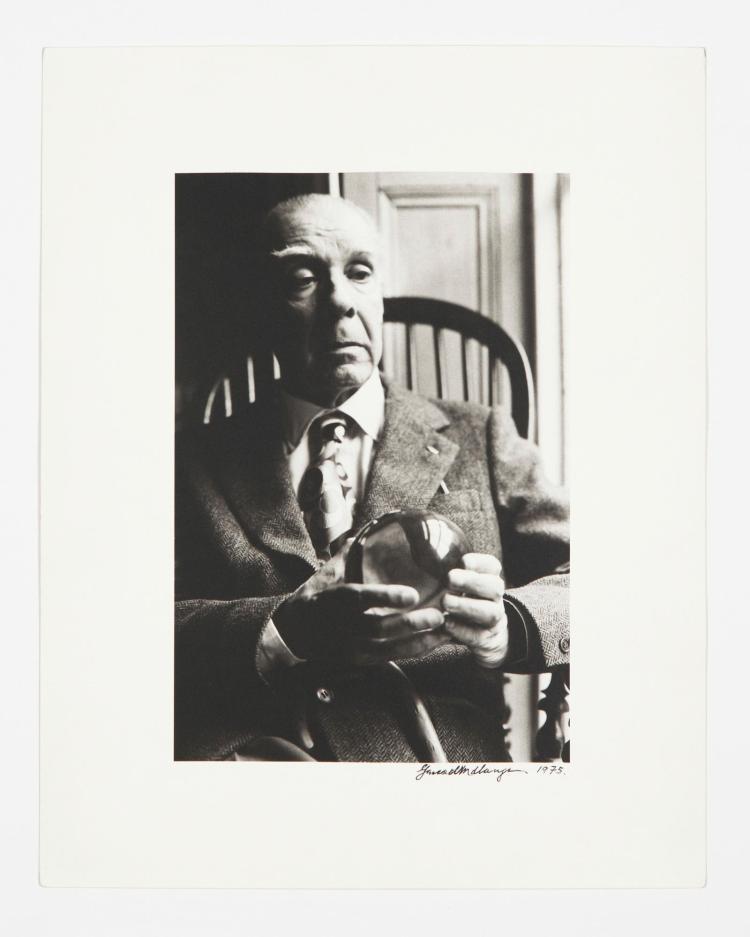 GERARD MALANGA – JORGE LUIS BORGES, 1975