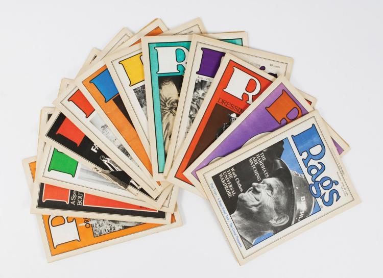 [PERIODICAL] - RAGS MAGAZINE, 1970 - 1971