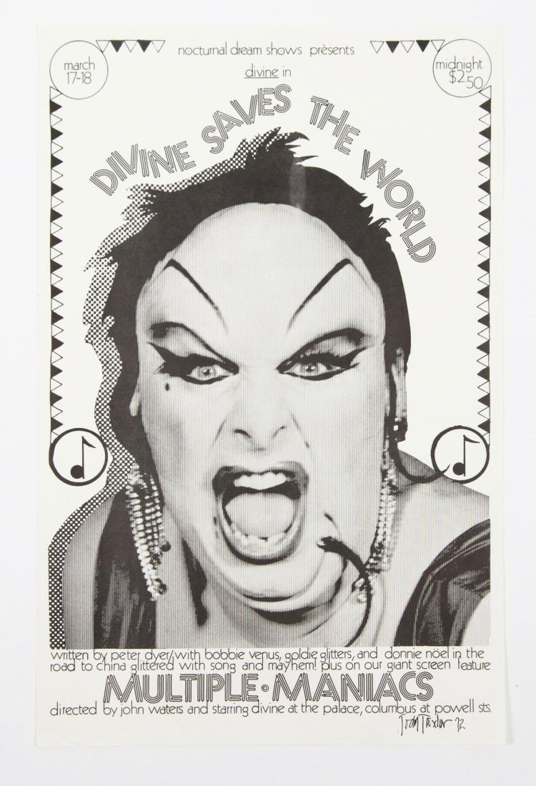john waters collection of movie posters