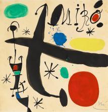 JOAN MIRÓ | Projet pour 'Miró i Catalunya'