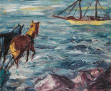 EMIL NOLDE | Einschiffung (Embarkation)