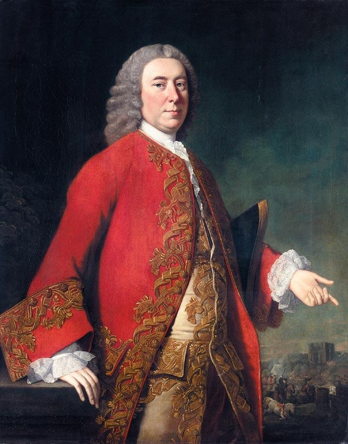 VARIOUS PROPERTIES ALLAN RAMSAY 1713-1784 PORTRAIT OF GENERAL JAMES GRANT (1720-1806)
