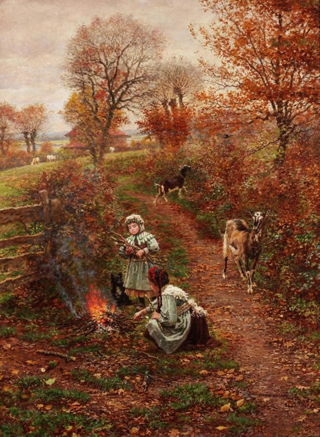 MARIE-FRANÇOIS FIRMIN-GIRARD, FRENCH 1838-1921