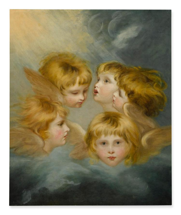 Lot 80: AFTER SIR JOSHUA REYNOLDS, P R A  | Heads of