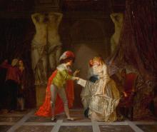 Genremalerei berühmt  Jean-Baptiste Mallet Paintings for Sale | Jean-Baptiste Mallet Art ...