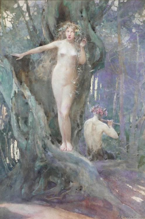 JOHN REINHARD WEGUELIN 1849-1927