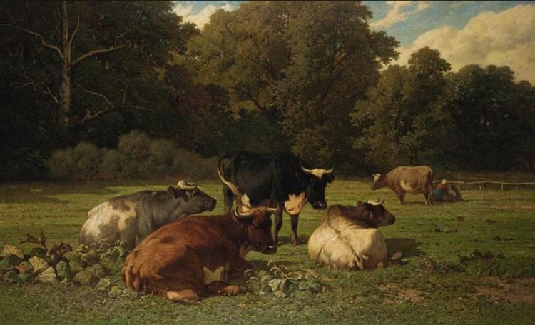 LOUIS MARIE ROBBE, BELGIAN 1806-1887