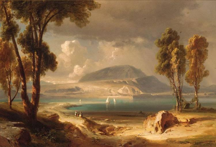 FRITZ BAMBERGER, GERMAN 1814-1873