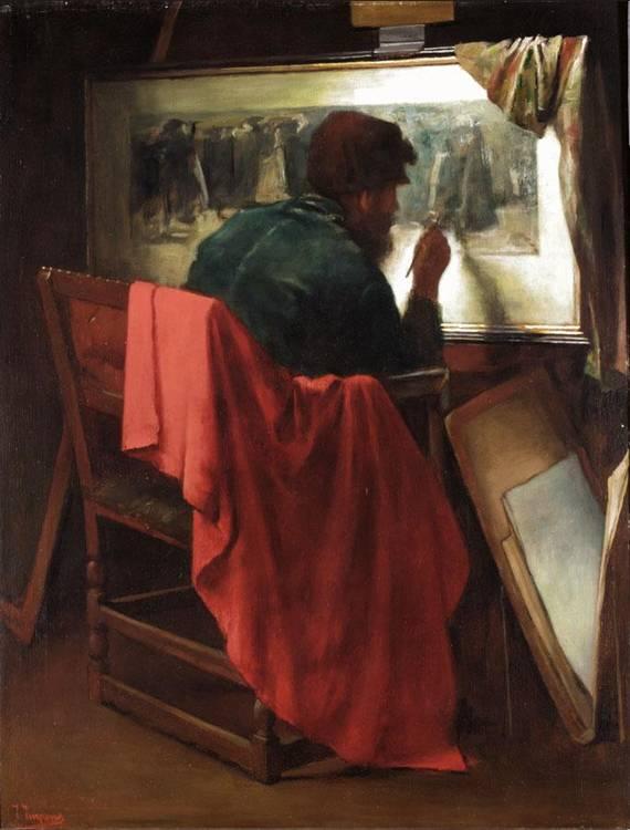 JOSSE IMPENS, BELGIAN 1840-1905