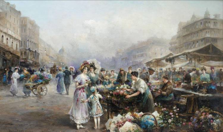 EMIL BARBARINI, AUSTRIAN 1855-1930