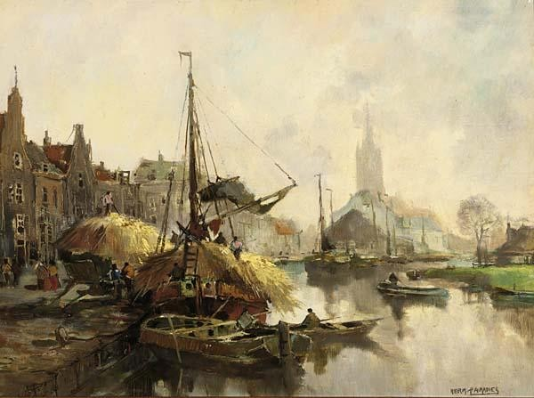 HERMAN PARADIES DUTCH 1883-1966