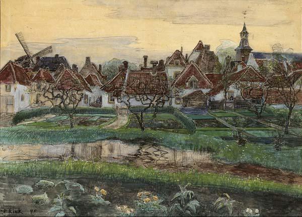 PAULUS PHILIPPUS RINK DUTCH 1861-1903