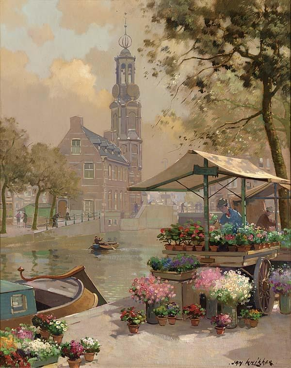 JAN KNIKKER DUTCH 1889-1957