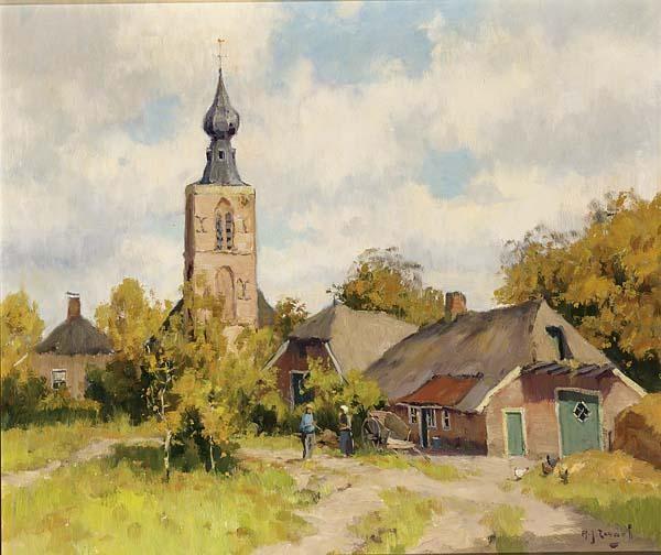 ADRIANUS JOHANNES ZWART DUTCH 1903-1981