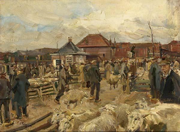 CARL FAHRINGER AUSTRIAN 1874-1952