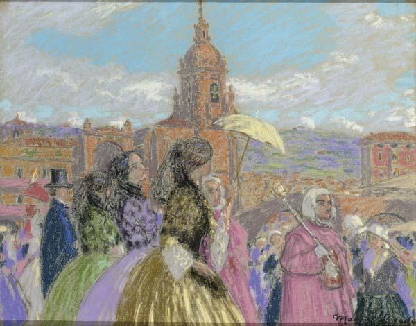 MANUEL LOSADA PÉREZ DE NENÍN SPANISH 1865-1949