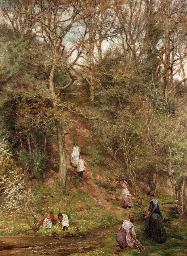 EDGAR BARCLAY, B.1842, FL.1868-1913