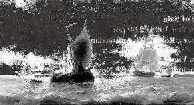 WILLEM GRUYTER JR. (1817-1880) SHIPPING NEAR IJMUIDEN