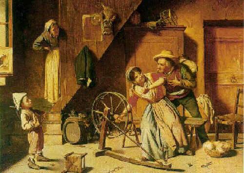 ORESTE COSTA (BORN 1851) A SPINSTER IN DISTRESS