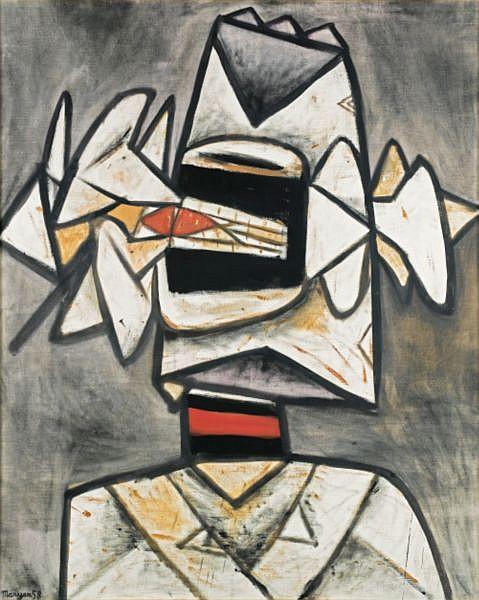 Maryan (Burstein Pinchas) , 1927-1977 Sans Titre huile sur toile