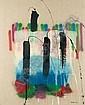 François Arnal , 1924 Plus vite que le son (série des élémentaires) huile sur toile, François Arnal, Click for value