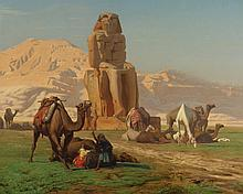 JEAN-LÉON GÉRÔME | The Colossus of Memnon