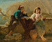 SOPHIE ANDERSON | Fisherman's Children, Capri