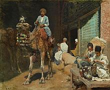 EDWIN LORD WEEKS | A Market in Ispahan