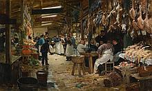 VICTOR GABRIEL GILBERT | Le marché parisien