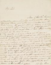 AMERICAN REVOLUTION. MANUSCRIPT TREATISE ON GREAT BRITAIN AND THE AMERICAN COLONIES, 1760S, WITH A LETTER (2)