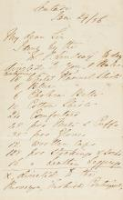 NIGHTINGALE, FLORENCE. TWO AUTOGRAPH LETTERS SIGNED, TO DR MACPHERSON, SCUTARI, 1856